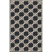 Surya Rain Black Indoor/Outdoor Area Rug