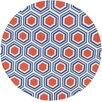 Surya Fallon Blue/Red Area Rug