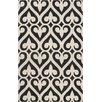 Surya Zuna Geometric Black Area Rug