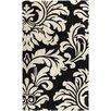 Surya Athena Hand-Tufted Black/White Area Rug