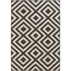 Surya Alfresco Black/Cream Indoor/Outdoor Area Rug