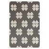 Surya Frontier Pewter/Winter White Floral and Plants Area Rug