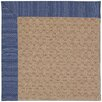 Capel Rugs Zoe Grassy Mountain Machine Tufted Navy/Brown Area Rug