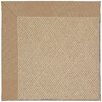 Capel Rugs Zoe Machine Tufted Biscuit/Brown Area Rug