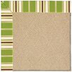 Capel Rugs Zoe Machine Tufted Green/Brown Area Rug