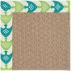 Capel Rugs Zoe Grassy Mountain Machine Tufted Angel Fish Green/Brown Area Rug