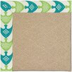 Capel Rugs Zoe Machine Tufted Angel Fish Green/Brown Area