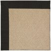 Capel Rugs Zoe Machine Tufted Ebony/Brown Area Rug