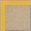 Capel Rugs Zoe Cane Wicker Machine Tufted Jonquil Area Rug