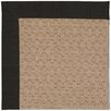Capel Rugs Zoe Grassy Mountain Machine Tufted Ebony/Brown Area Rug