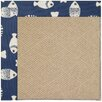 Capel Rugs Zoe Machine Tufted Pitch/Brown Area Rug