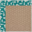 Capel Rugs Zoe Grassy Mountain Machine Tufted Green/Brown Area Rug