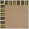 Capel Rugs Zoe Raffia Machine Tufted Charcoal Area Rug