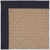 Capel Rugs Zoe Grassy Mountain Machine Tufted Dark Navy/Brown Area Rug