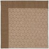 Capel Rugs Zoe Grassy Mountain Machine Tufted Cafe/Brown Area Rug