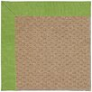 Capel Rugs Zoe Machine Tufted Grass/Brown Area Rug