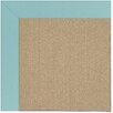 Capel Rugs Zoe Sisal Machine Tufted Seafaring Blue/Brown Area Rug