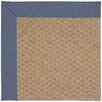 Capel Rugs Zoe Raffia Machine Tufted Blue/Brown Area Rug