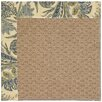 Capel Rugs Zoe Machine Tufted High Seas/Brown Area Rug