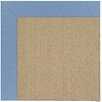 Capel Rugs Zoe Sisal Machine Tufted Blue/Brown Area Rug