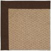 Capel Rugs Zoe Machine Tufted Brown Area Rug