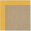 Capel Rugs Zoe Machine Tufted Yellow/Brown Area Rug