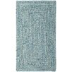 Capel Rugs Sea Pottery Blue Variegated Outdoor Area Rug