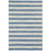 Capel Rugs Elsinore Blueberry Striped Outdoor Area Rug