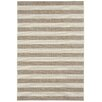 Capel Rugs Elsinore Wheat Beige Striped Outdoor Area Rug