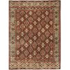 Capel Rugs Biltmore Hand Knotted Dark Red Multi Area Rug