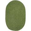 Capel Rugs Custom Classics Braided Green Area Rug