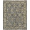 Capel Rugs Brandon Hand Knotted Pewter Cream Area Rug