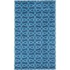 Capel Rugs Cococozy Symphonic Hand Knotted Midnight Blue Area Rug
