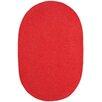 Capel Rugs Custom Classics Braided Red Area Rug