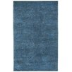 Capel Rugs Cococozy Coil Hand Knotted Blue Area Rug