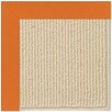 Capel Rugs Zoe Beach Sisal Machine Tufted Clementine Area Rug