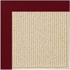 Capel Rugs Zoe Machine Tufted Wine/Brown Area Rug