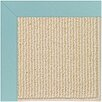 Capel Rugs Zoe Beach Sisal Machine Tufted Seafaring Blue/Brown Area Rug