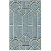 Capel Rugs Williamsburg Ironworks Hand Tufted Pale Blue Area Rug