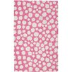 Capel Rugs Hable Construction Sky Heavenly Machine Woven Pink Area Rug