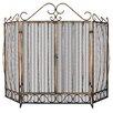Uniflame Corporation 3 Panel Bronze Fireplace Screen
