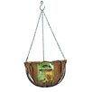 Steel Hanging Planter - Size: 7.5 inch High x 12 inch Wide x 12 inch Deep - Panacea Products Planters
