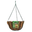 Steel Hanging Planter - Size: 7.5 inch High x 14 inch Wide x 14 inch Deep - Panacea Products Planters