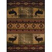 United Weavers of America Affinity Hunter's Dream Lodge Ivory Area Rug