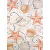 United Weavers of America Regional Concepts Star and Shells Area Rug