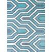 United Weavers of America Modern Texture Cupola Blue Area Rug