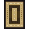 United Weavers of America China Garden Mystic Square Black Area Rug
