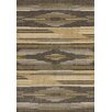 United Weavers of America Contours Native Chic Grey Area Rug
