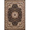 United Weavers of America Antiquities Black/Beige Area Rug