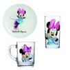 Josef Mäser GmbH Disney Minnie Mouse 3-Piece Children's Dinnerware Set